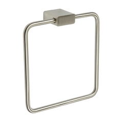 Atlas Homewares Modern Towel Ring in Brushed Nickel Finish ELETR-BRN