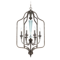 Craftmade Boulevard Mocha Bronze, Silver Accents Pendant Light