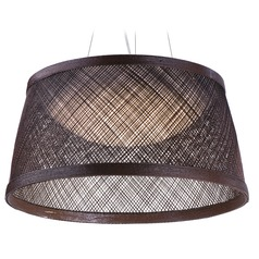 Maxim Lighting Bahama Chocolate LED Pendant Light with Bowl / Dome Shade