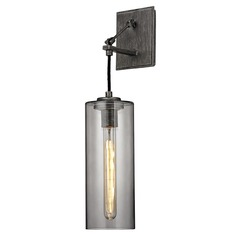 Troy Lighting Union Square Graphite Sconce
