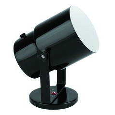 Black Adjustable Up Light Lamp