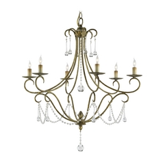 Chandelier in Rhine Gold Finish