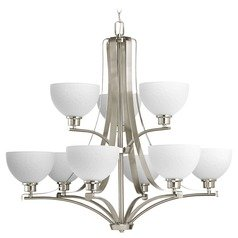 Progress Lighting Legend Brushed Nickel Chandelier