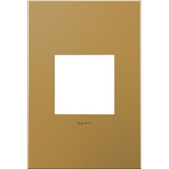 Legrand Adorne Satin Bronze 1-Gang Switch Plate