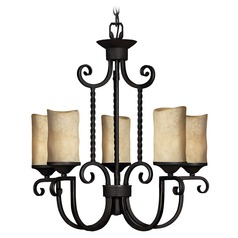 Hinkley 5-Light Chandelier in Olde Black