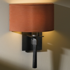 Hubbardton Forge Lighting Beacon Hall Dark Smoke Sconce
