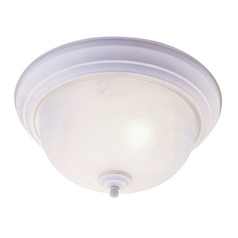 Livex Lighting Regency White Flushmount Light