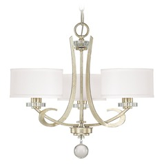 Capital Lighting Hutton Winter Gold Mini-Chandelier