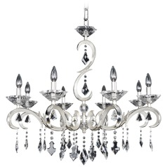 Scarlatti 8 Light Crystal Chandelier