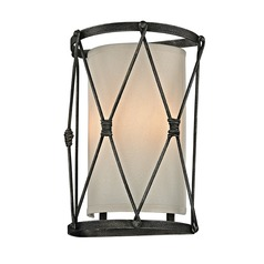 Troy Lighting Palisade Aged Pewter Sconce