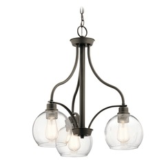Transitional Chandelier Olde Bronze Harmony by Kichler Lighting