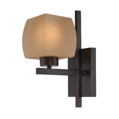 Lite Source Lighting Solo Bronze Sconce