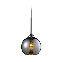 Elk Lighting HGTV Mini-Pendant in Polished Chrome 10240/1CHR-LA