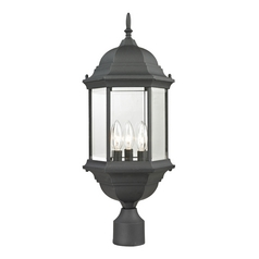 Cornerstone Lighting Spring Lake Matte Textured Black Post Light