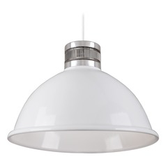 Industrial White LED Pendant 3000K 580LM