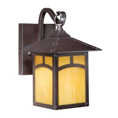 Mission Ii Espresso Bronze Outdoor Wall Light by Vaxcel Lighting