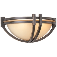 Bronze Two-Light Wall Sconce Light