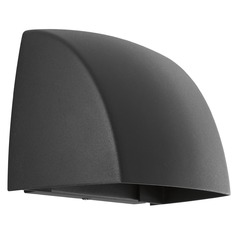 Progress Lighting Cornice Black LED Outdoor Wall Light