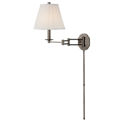 Hudson Valley Lighting Ravena Historic Nickel Swing Arm Lamp