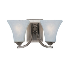 Maxim Lighting Aurora Satin Nickel Bathroom Light