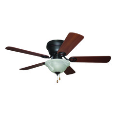 Craftmade Lighting Wyman Oil-Rubbed Bronze Ceiling Fan with Light