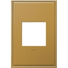 Legrand Adorne Antique Bronze 1-Gang Switch Plate