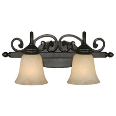 Golden Lighting Belle Meade Rubbed Bronze Bathroom Light