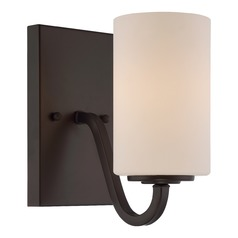 Nuvo Lighting Willow Aged Bronze Sconce