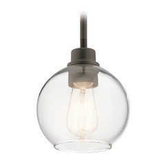 Transitional Mini-Pendant Light Olde Bronze Harmony by Kichler Lighting