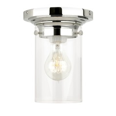 Mid-Century Modern Semi-Flush Ceiling Light by Tech Lighting