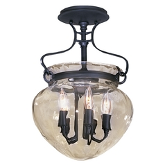 Five-Light Semi-Flush Ceiling Light