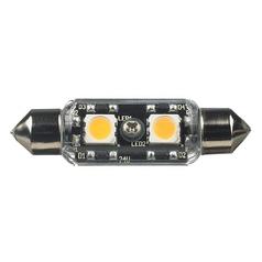 Sea Gull Frosted LED T3 Festoon Light Bulb - 5-Watt Equivalent