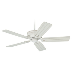 Hunter Fan Company Orchard Park Distressed White Ceiling Fan Without Light