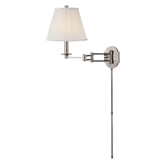 Hudson Valley Lighting Ravena Polished Nickel Swing Arm Lamp