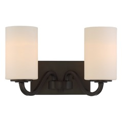 Nuvo Lighting Willow Aged Bronze Bathroom Light