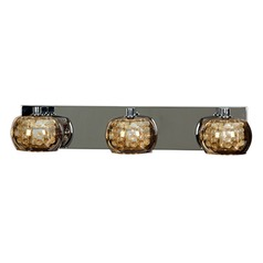 Access Lighting Glam Chrome Bathroom Light