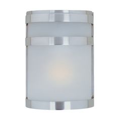 Maxim Lighting Arc Stainless Steel Outdoor Wall Light