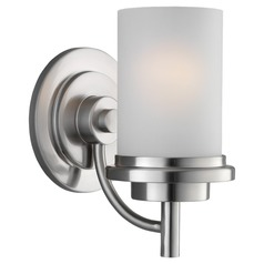 Sea Gull Lighting Winnetka Brushed Nickel Sconce