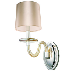 Maxim Lighting International Venezia Polished Nickel Sconce