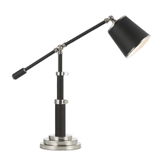 AF Lighting Oil Rubbed Bronze Swing Arm Lamp with Drum Shade