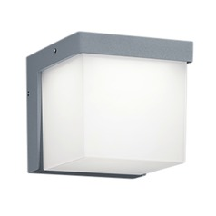Arnsberg Yangtze Light Grey / Titanium LED Outdoor Wall Light