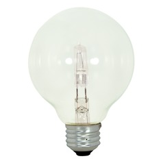 Halogen G25 Light Bulb Medium Base 2900K 120V Dimmable