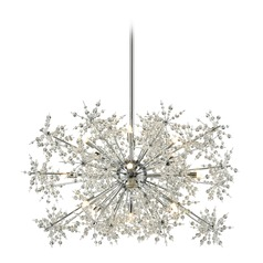 Elk Lighting Snowburst Polished Chrome Pendant Light