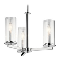 Kichler Lighting Crosby Chrome Mini-Chandelier