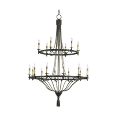 Chandelier in Pyrite Bronze Finish