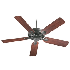 Quorum Lighting Pinnacle Old World Ceiling Fan Without Light