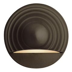Hinkley Lighting Modern LED Recessed Deck Light in Bronze Finish 1549BZ-LED