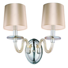 Maxim Lighting Venezia Polished Nickel Sconce