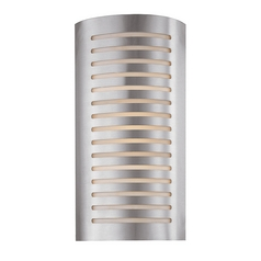Access Lighting Krypton Brushed Steel Sconce