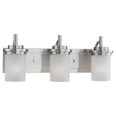 Sea Gull Lighting Winnetka Brushed Nickel Bathroom Light